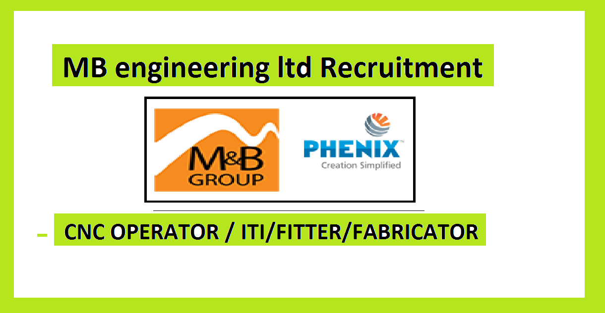 CNC OPERATOR JOBS BY MB ENGINEERING LTD
