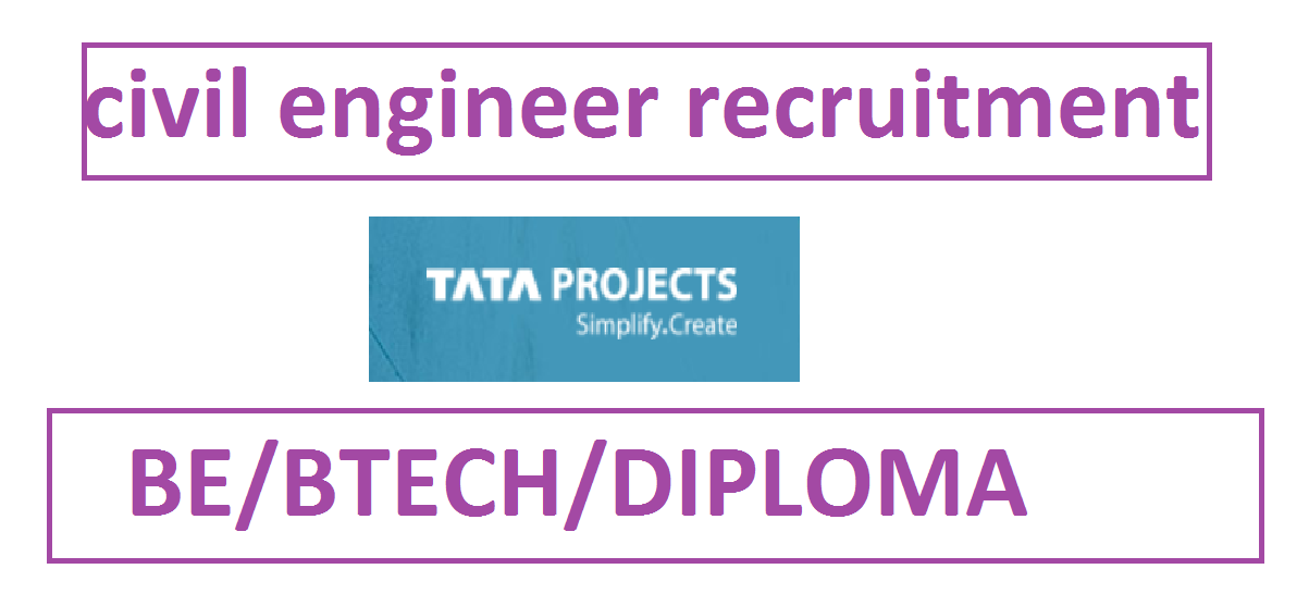TATA PROJECTS RECRUITMENT